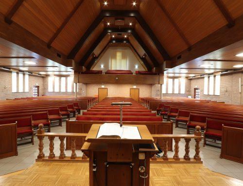 Indeling kerkdiensten